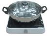 Bếp điện từ ETD32 mặt kính ceramic, công suất 2000W, 9 mức công suất