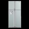 Tủ lạnh Hitachi side by side R-W660EG9- 550 lít, 4 cánh, màu bạc/màu đen