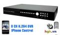 Đầu ghi hình 8 kênh, điều khiển qua Iphone KPD677ZB